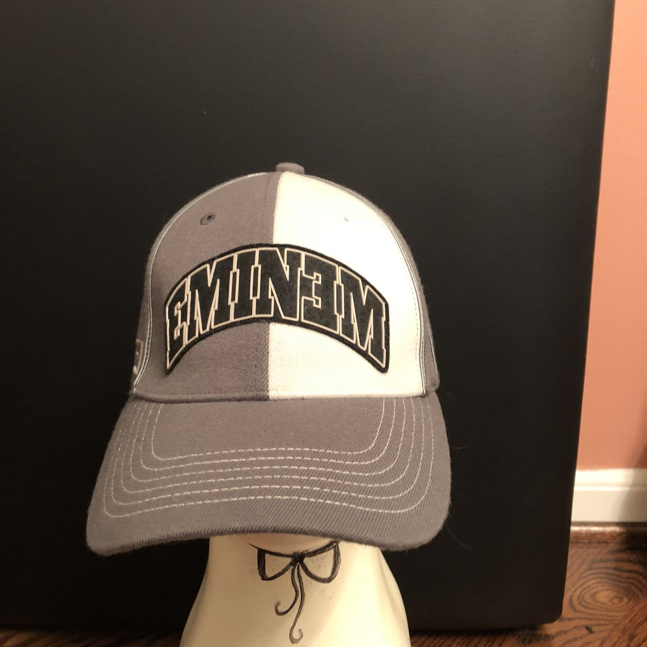 Eminem fitted dad hat. Early 2000s. OSFA.  4.50 shipping - Depop a16319888ae