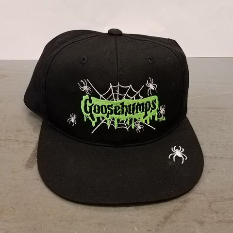 A Vintage 1995 Goosebumps Youth Snapback Hat By Annco. In no - Depop 12d86c8f391