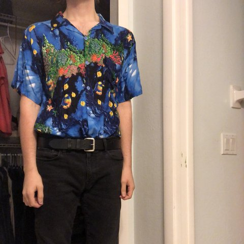 b3170d6b3504 @titaniumpeach. 26 days ago. Fort Myers, United States. awesome vintage  lightweight hawaiian shirt ...