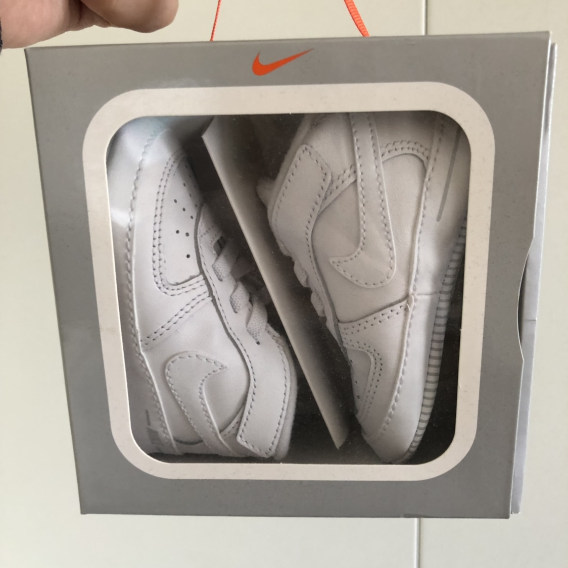 Nike Air Force 1 crib shoes for babies