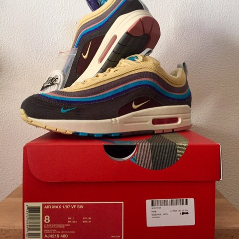 "47a294b7258 AIR MAX 1 97 VF SW ""SEAN WOTHERSPOON"" Condition  DS Size  UK - Depop"
