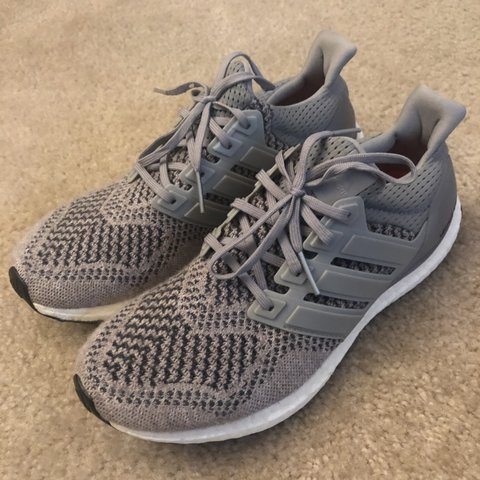 89ee92a38a3 adidas Ultra Boost 1.0 Wool Grey S77510 100% authentic - Depop