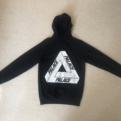 34f46cf481a2 Palace Black   White Tri Ferg Hoodie Deadstock purchased - Depop