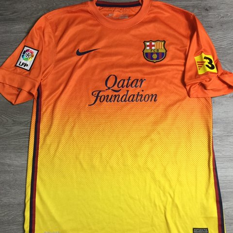 f421f7e2017 Nike FC Barcelona Away Stadium Blank Jersey 2012 Men s To 20 - Depop