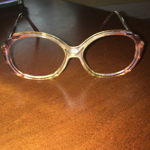 9faf32eebf Vintage 70s glasses frames    There are NO lenses in They - Depop