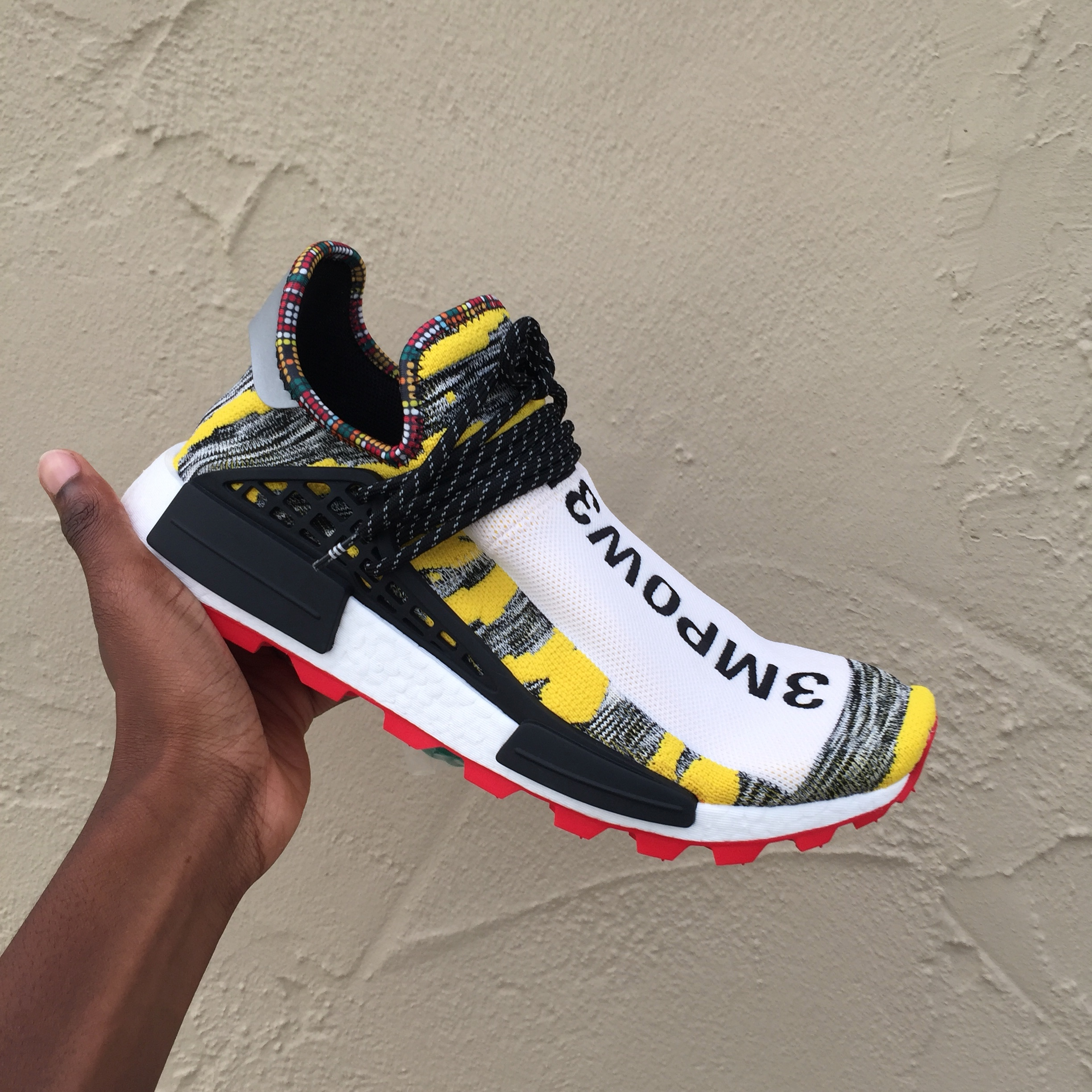 quality design 67b20 26506 Adidas x Pharrell Williams x Solar (Afro) HU NMD. ... - Depop