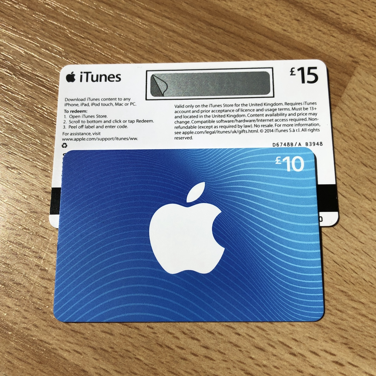 iTunes and App Store gift cards worth £25  💲 Can    - Depop