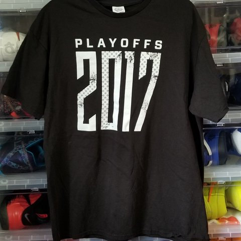 2017 NBA San Antonio Spurs playoffs shirt. Placed on seats - Depop 9a182de42