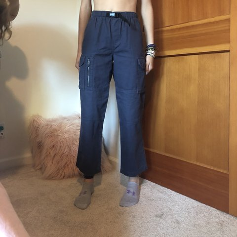 07bcea3ffc4a Lands end cargo pants! I love these pants so much I wish fit - Depop