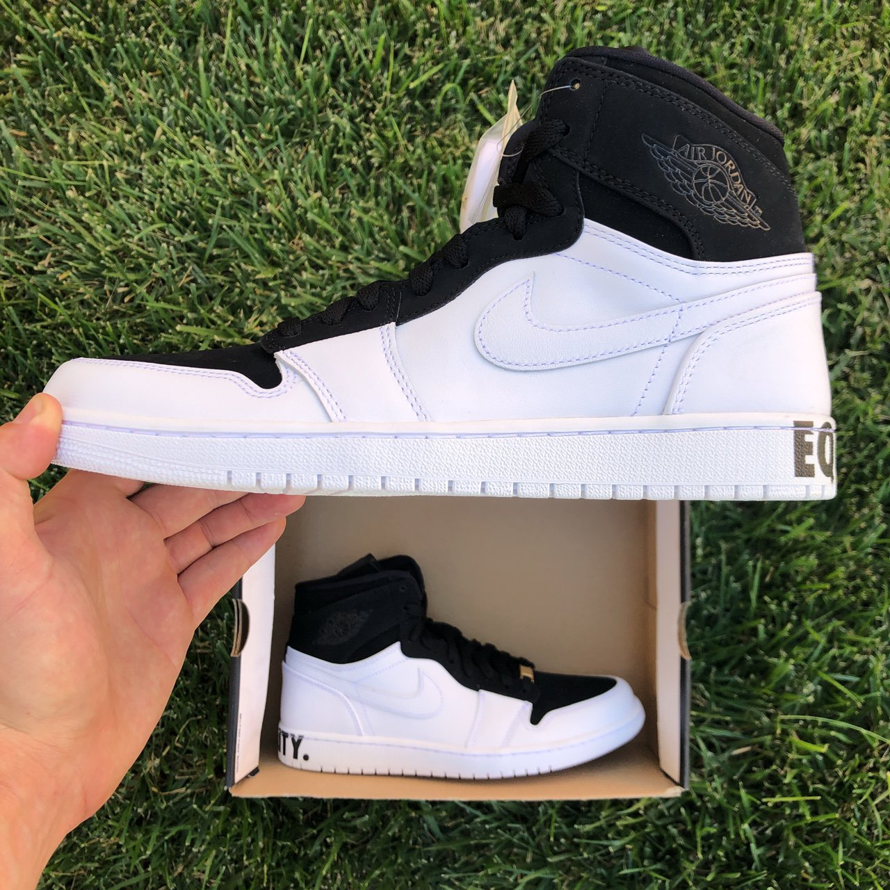 04b39e9ec5c4 Out here with with these.... Nike Air Jordan 1 Retro High - Depop