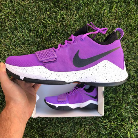 644db90dacd769 Nike PG 1 Paul George (878627-500) Size 12 Color  Bright - Depop