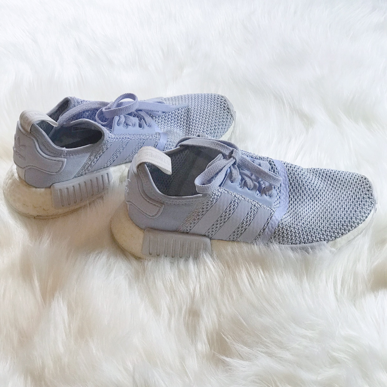 new concept 11aa4 586c6 FREE SHIPPING‼️ Adidas NMD R1 Sneakers in Aero Blue... - Depop