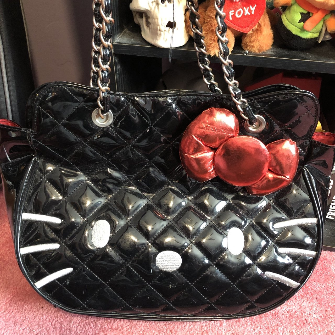 43a12368b @snwright138. 4 months ago. Norwood, United States. Hello Kitty x Loungefly  bag ...