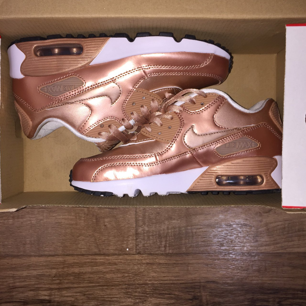 36155a61d03c74  lynnclothing. 11 months ago. United States. Rose Gold Nike Air Max 90s