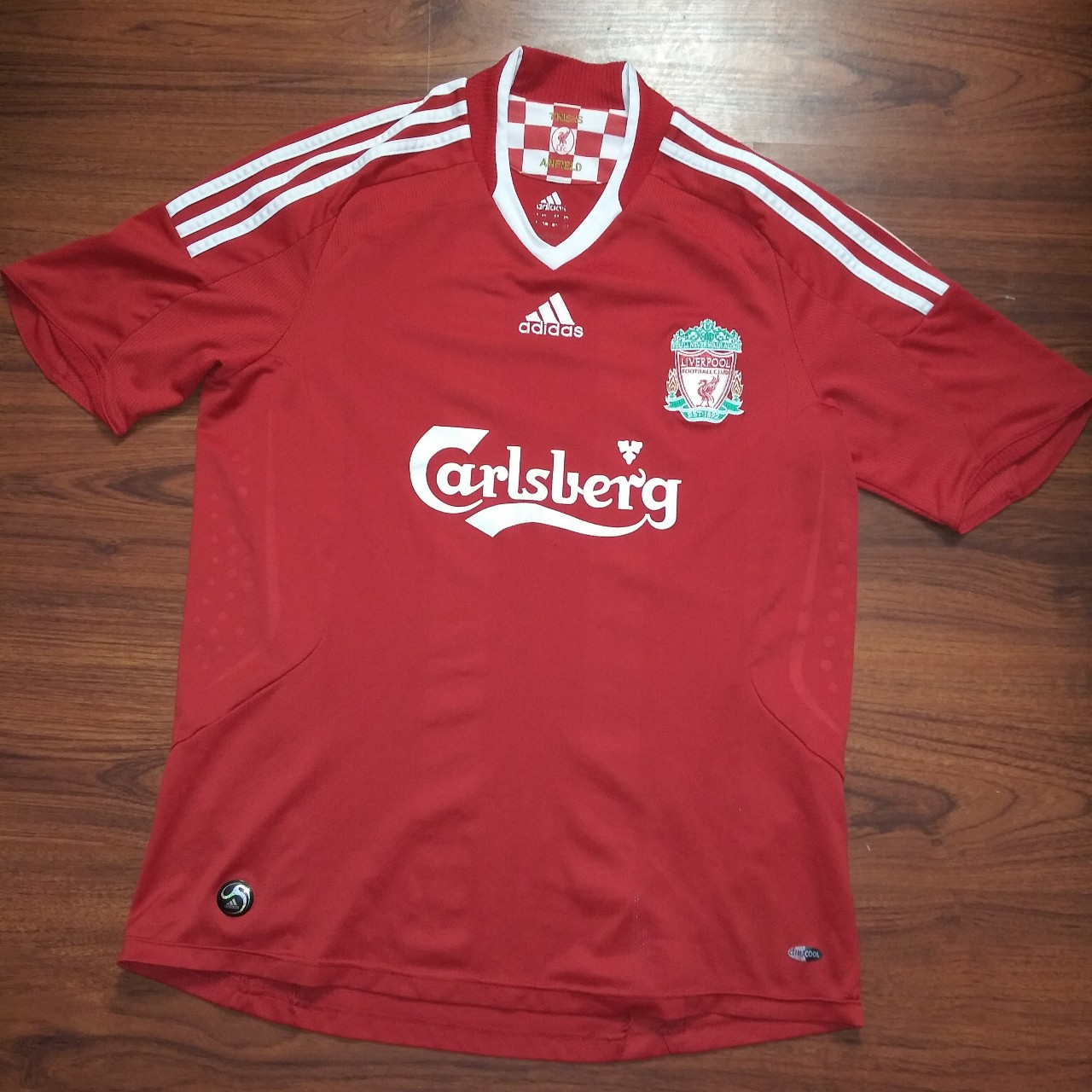 on sale 7e233 bd243 Liverpool adidas official soccer jersey in great... - Depop