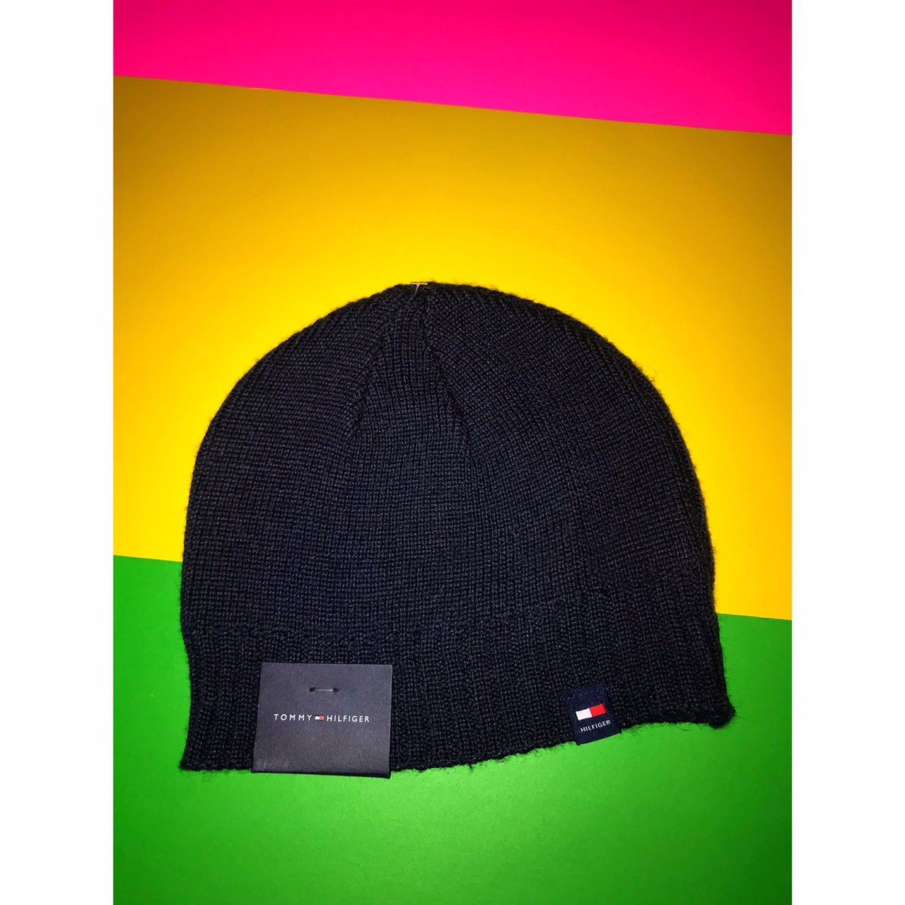 82074c293f9 💥New With Tags💥 Tommy Hilfiger Beanie Navy blue beanie - Depop