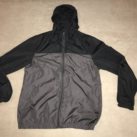 a6fa717d608b  niecespieces. 5 months ago. United States. Zine Sprint Black   Charcoal  Windbreaker Jacket.
