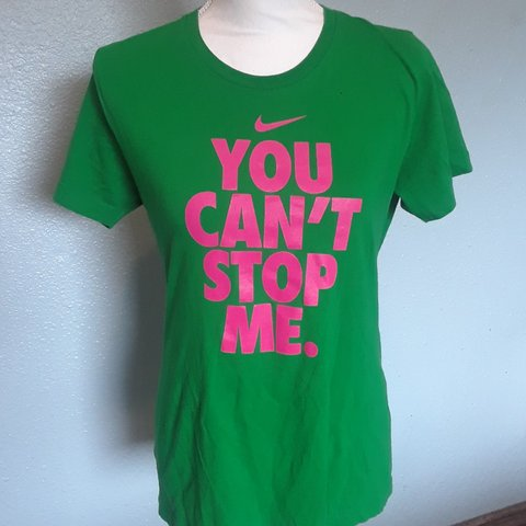 12fc4a77e800 Cool and colorful Nike You can t stop me tee. In great from - Depop