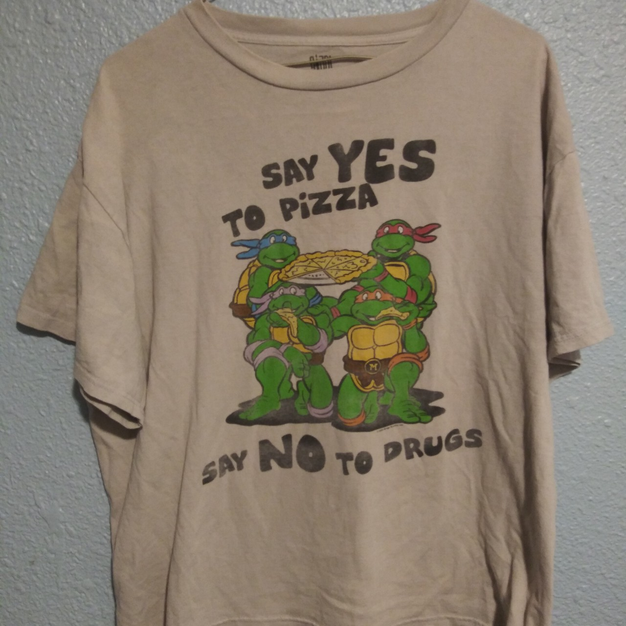 Rare Say No To Drugs Tmnt Cowanunga Cool Say Depop