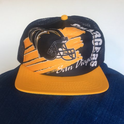 21c63beee @goodsandfinds. 11 months ago. San Francisco, United States. Vintage San  Diego Chargers Cap.