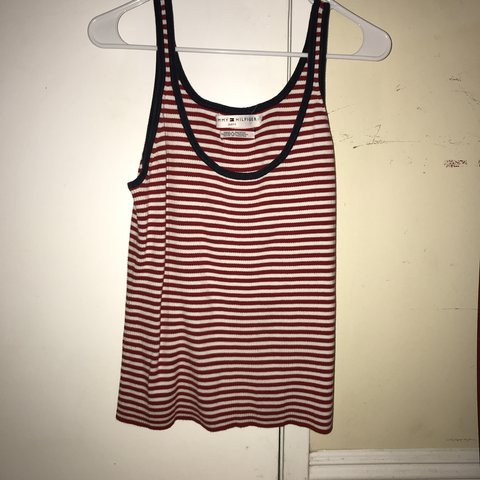 469af298 @creebuckner_. 8 months ago. United States. Authentic Tommy Hilfiger tank  top, never worn ...