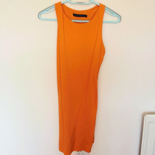 df137753 Zara dress- great for summer and a very flattering fit- out - Depop