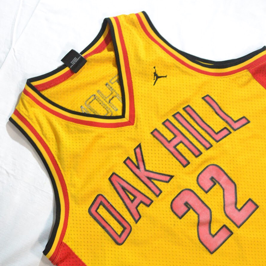 huge selection of bd8ab 0dd17 Vintage jordan carmelo anthony oak hill jersey... - Depop