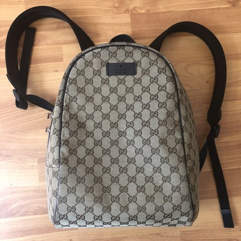 9832c68f8ab 100% Authentic Gucci back pack 10 10 condition No receipt - Depop