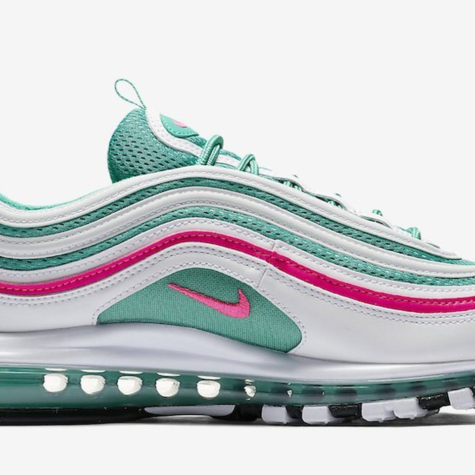 Nike Air Max 97 south beach size 10 uk Open to Depop