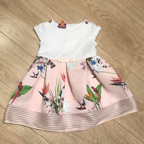 7ea10da9e Ted Baker dress age 3-6months. Worn once for a  babygirl - Depop