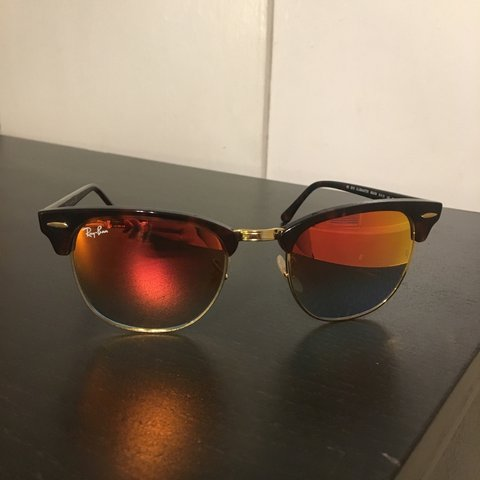 286b1ee1df297 Ray Ban Clubmaster Sunglasses Model  RB 3016 Frame size  a - Depop
