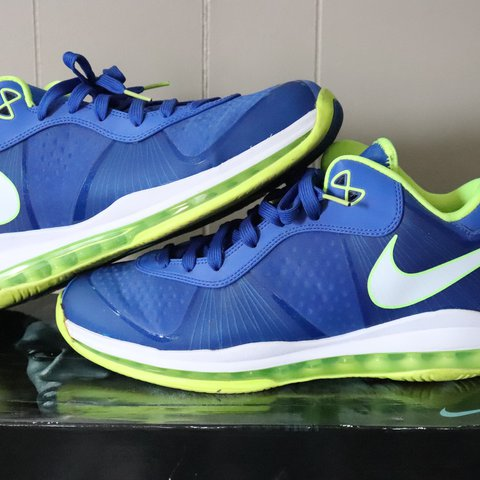 ef8c0f5ebad8 Nike Lebron 8 v2 Low  Sprite  9 10 condition. Comes with - Depop