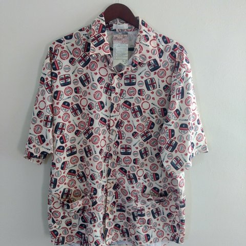 Mens R 99 RocaWear Shirt In Excellent Condition Hawaiian