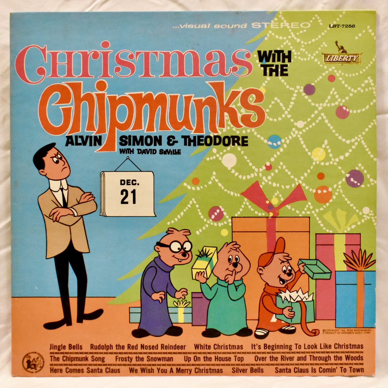 Christmas With The Chipmunks Label: Sunset Records – LP, - Depop