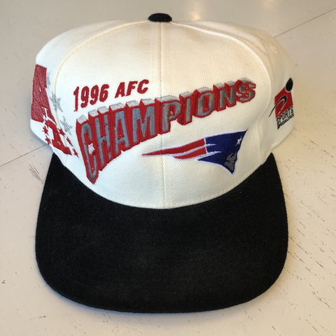Vintage New England Patriots SnapBack with original tags! - Depop d230f7a39