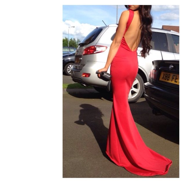 Thinking of selling my prom dress is anyone is interested // - Depop