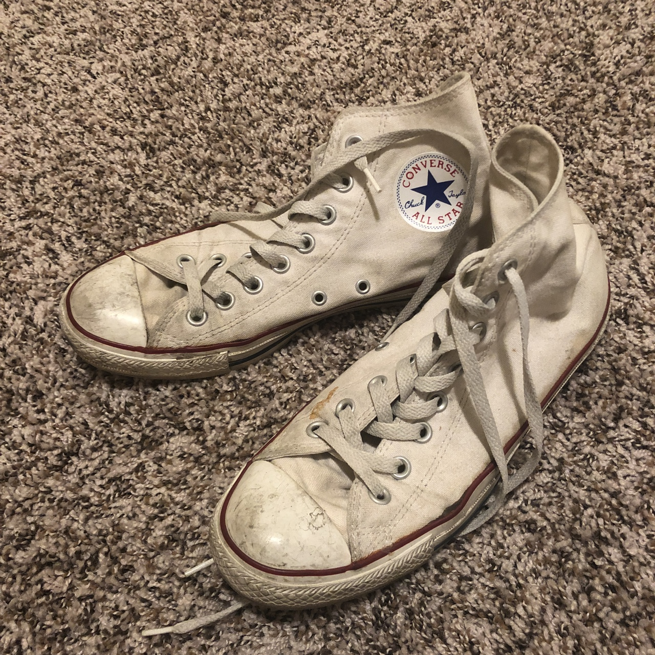old chuck taylor shoes