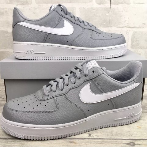 sports shoes add24 53f71  dipuclothing. 10 months ago. London, United Kingdom. Nike Air Force 1 07  Trainers Wolf Grey White Grey