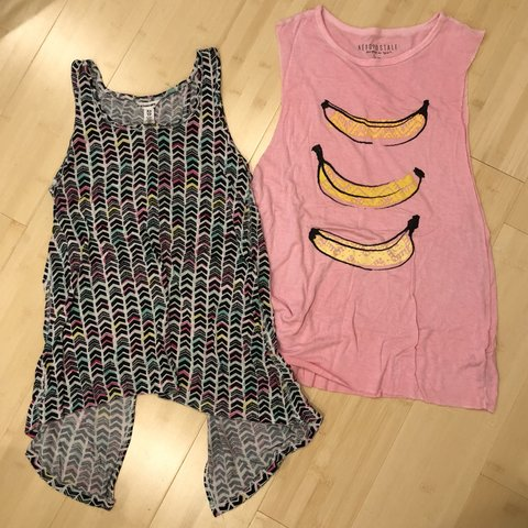 c78f4d87 2 tanks! Each worn once Perfect condition, very soft & one a - Depop