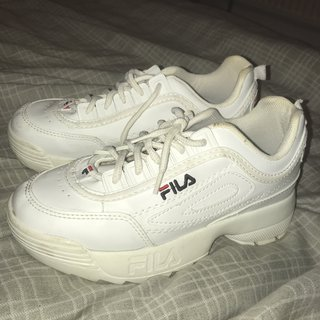 FAKE Fila shoes . Size 5 , only ever