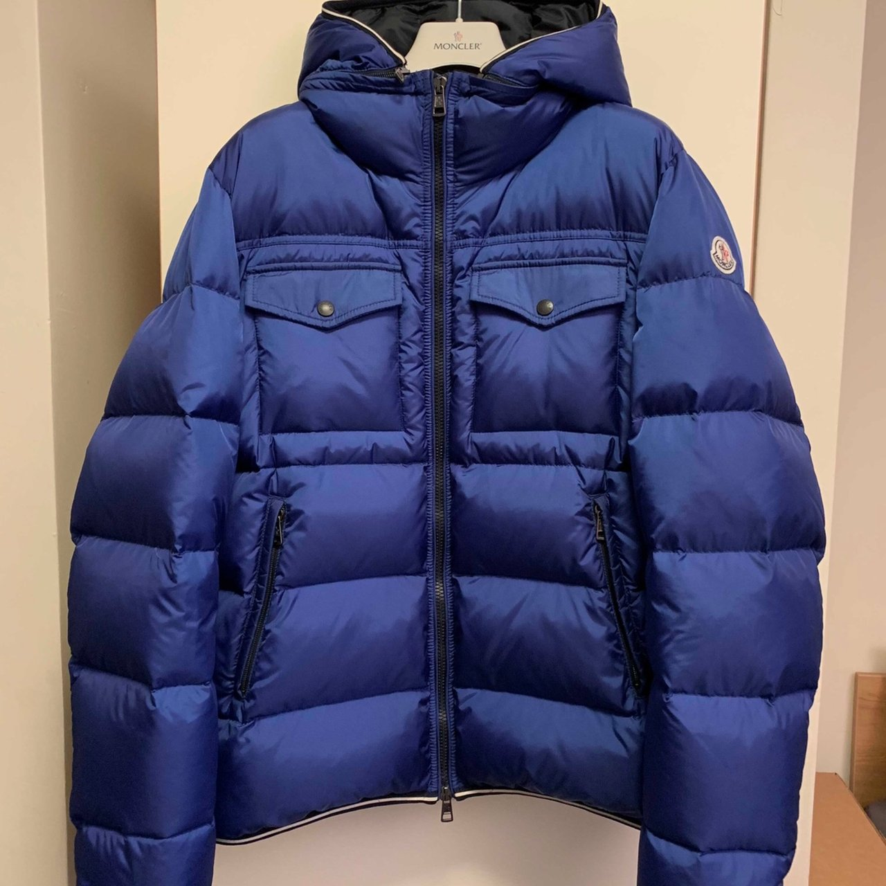 fee8480e7 Mens Moncler jacket Size  3 Fit  medium large Looking to - Depop