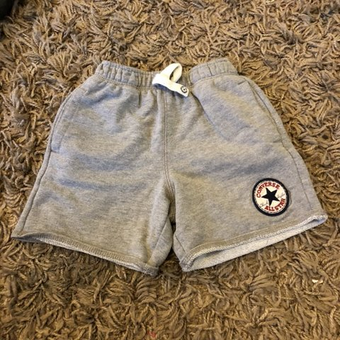 6073a740d46c Genuine Boys Converse Grey Shorts. In a size 2 3