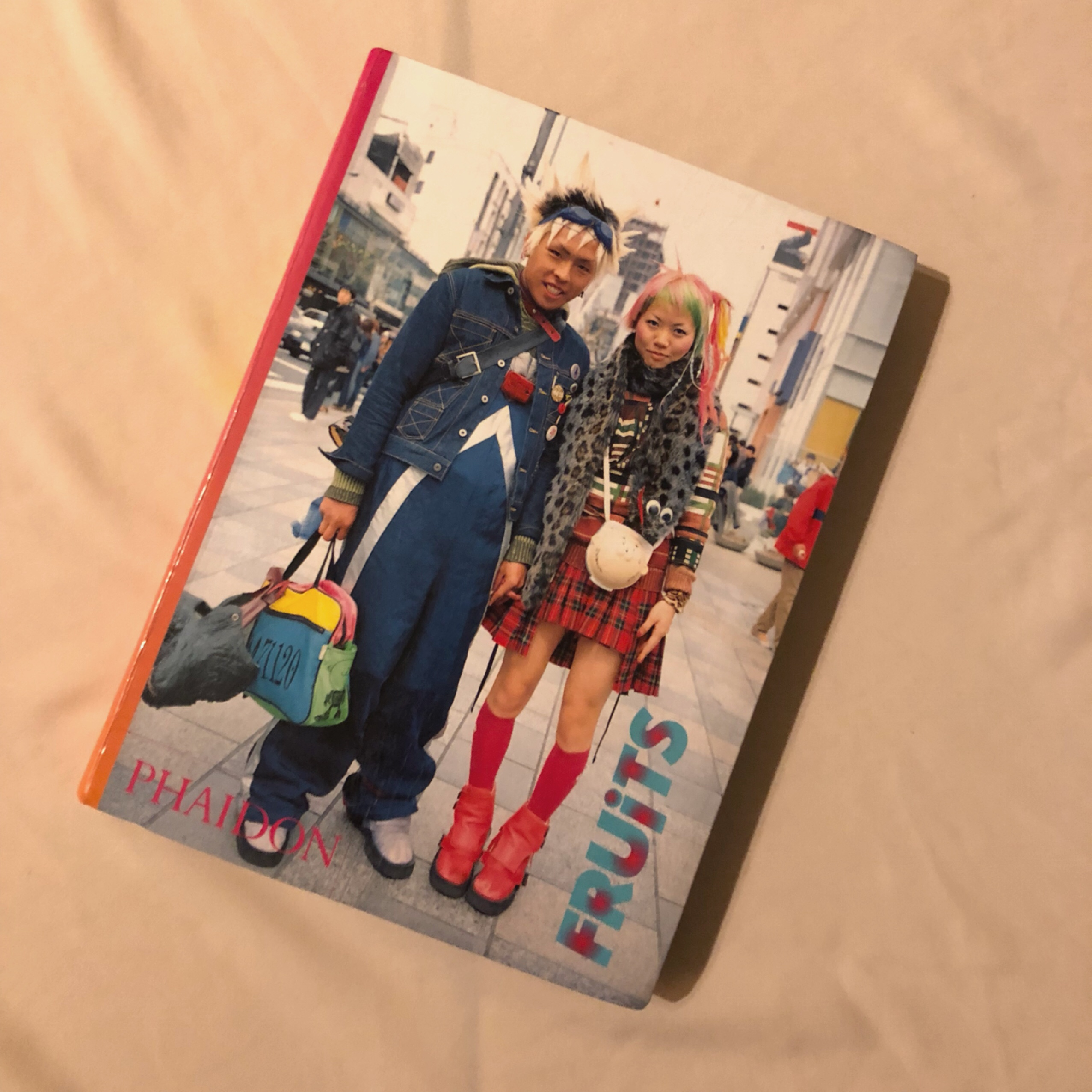 FRUITS STREET FASHION BOOK The best of 1997-2001    - Depop