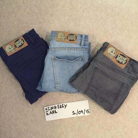 3715bed4 BUNDLE | Cheap Monday Jeans | 8/10 condition Overall | Dark - Depop
