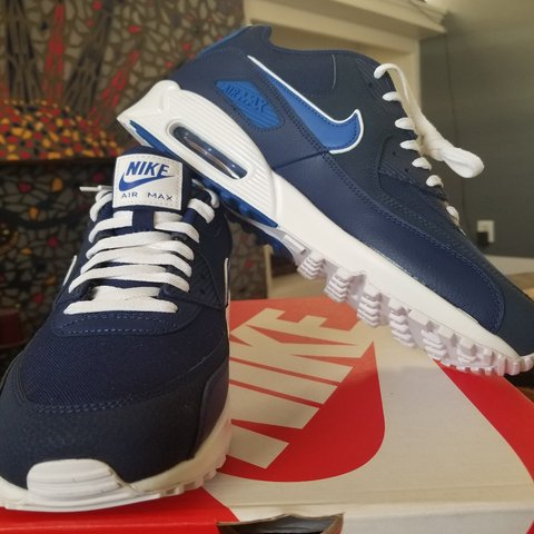 the latest b9228 92849  calmp. 4 months ago. San Antonio, Bexar County, United States. Nike Air  Max 90 essential blue void   game royal AJ1285-401 men s ...