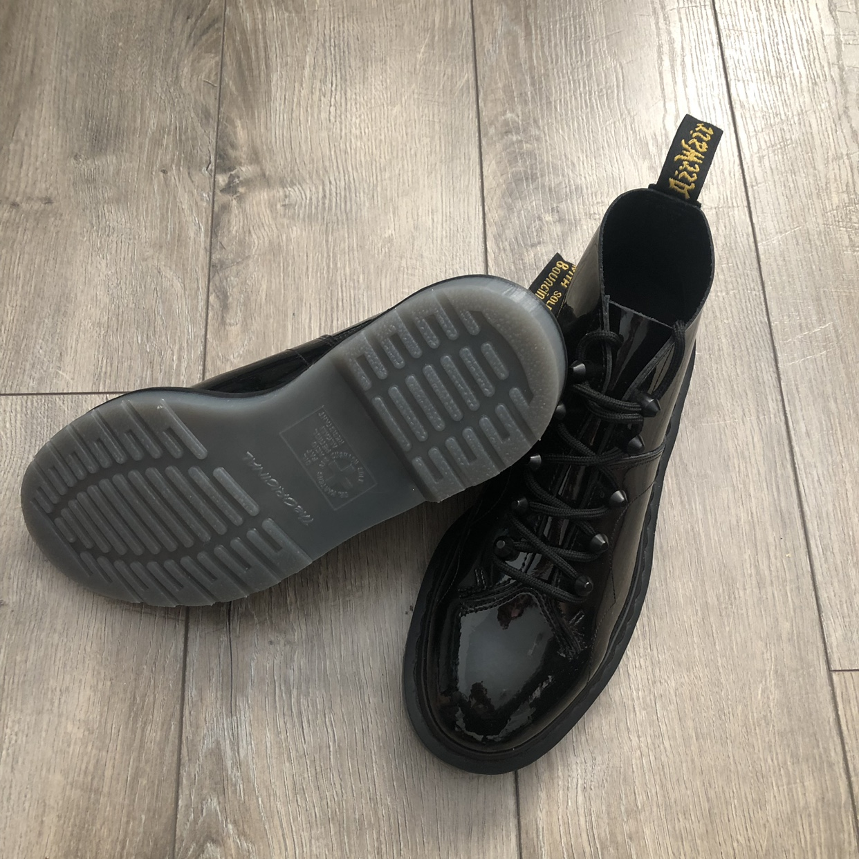 coupon codes sale first look Dr Martens Church Stud Monkey Boots Size: USL 8 /... - Depop