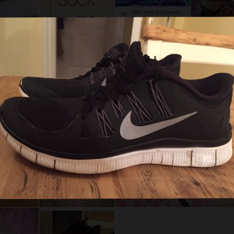 online retailer 133f6 4470b  ellielouscott. 2 years ago. Cambridgeshire, UK. Nike free runs 5.0 black  ...