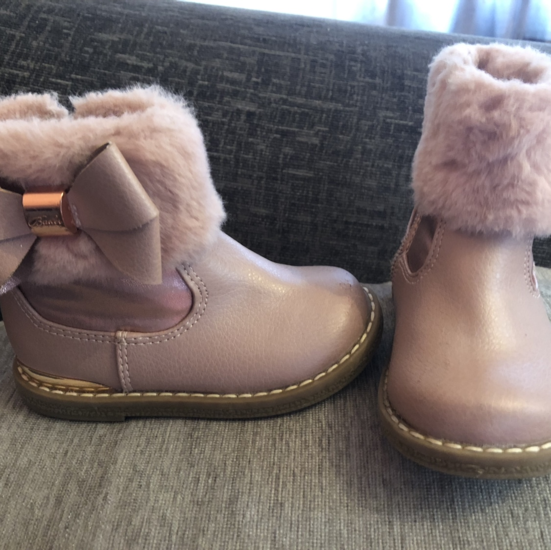 Girls ted baker boots Infant size 5