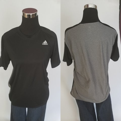 633d0f7d09f8 @sugarcoateddiva. last year. Knoxville, Knox County, United States. Adidas  Climalite Mens Size Medium. Black front ...