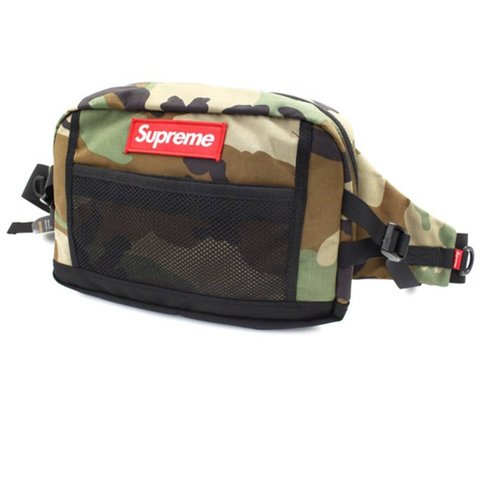 """06f5953657 Supreme '15 """"Contour Hip Bag"""" *Signed by Camo Could be worn - Depop"""